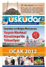 Üsküdar Belediyesi Aylık Haber Bülteni - Ocak 2012