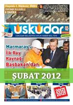 Üsküdar Belediyesi Aylık Haber Bülteni - Şubat 2012
